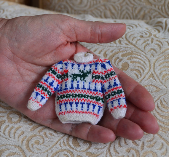 112th scale Miniature Stag Jumper Knitting pattern
