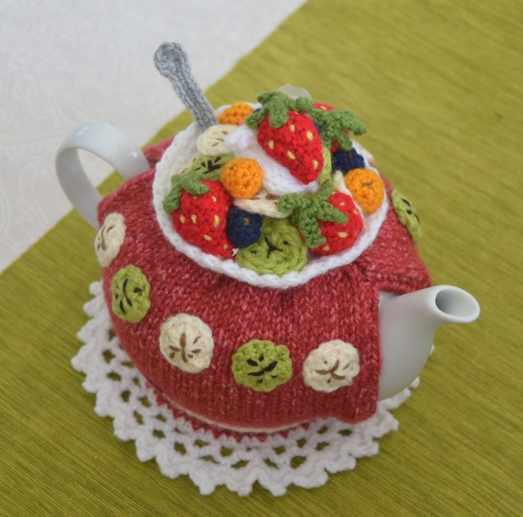 fruit salad tea cozy