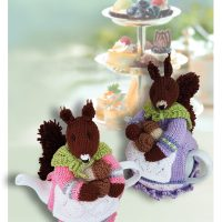 Beatrix Nutcracker Squirrel Tea Cosy