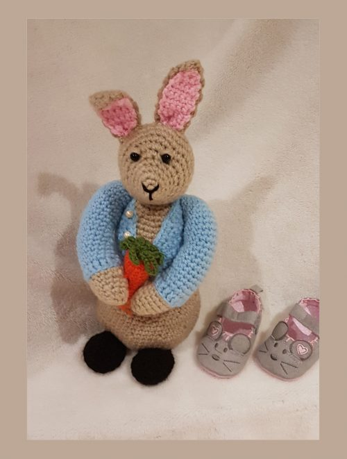Peter Bunny Rabbit crochet toy
