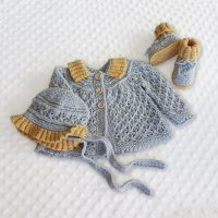 Angel Lace Baby Set  (0-12months)