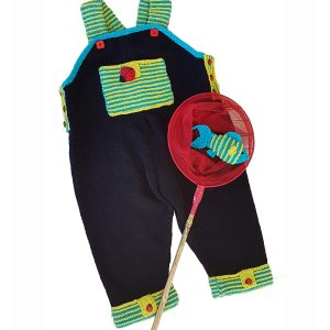 Lets Play Dungareefor 1 to 5 year olds knitting pattern