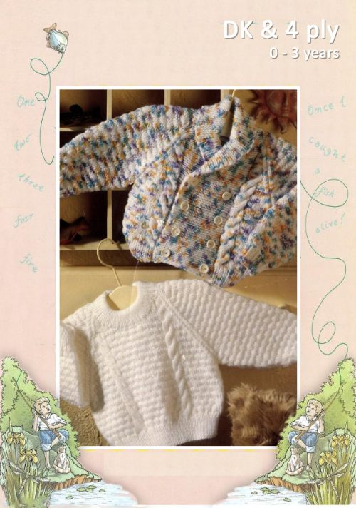 4ply Sweater and DK Jacket by Patons 4949