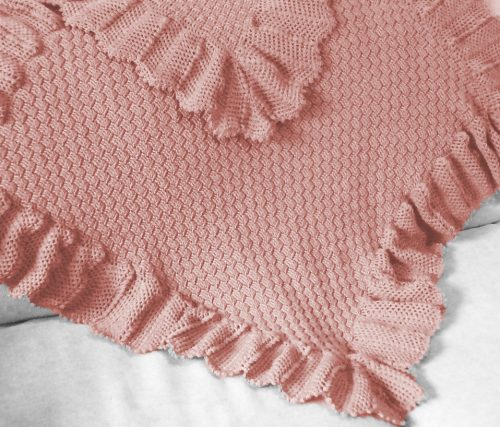 Snowflake baby shawl by Patons 2105