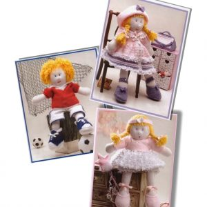 Bootleg Kids dolls to knit