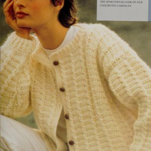 Chic Cardigan - Crochet