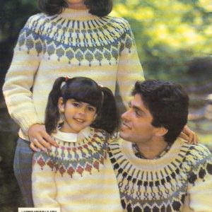 CHUNKY - Fair Isle Family Fun Nordic Sweater