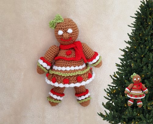 gingerbread girl to crochet