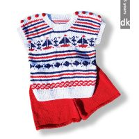Nautical Top and Shorts – (3 months – 6 years)