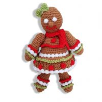 Gingerbread Girl – .PDF CROCHET Pattern