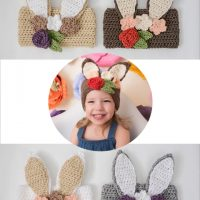 Peter Bunny Rabbit Headband – Crochet