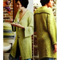 CHUNKY – Sweet Indulgent Long Coat / Jacket – (6 Sizes) EASY relaxed knit