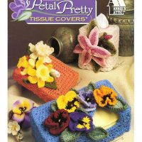 Crochet Pretty Petals Tissue Covers and Flower Motifs