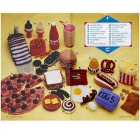 Crochet Fast Food Toys  20 items