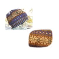Fair Isle Cap – (51-55cm) (20-22 ins) head