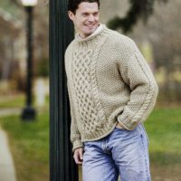 Jacks Aran Pullover Sweater – S, M, L, XL