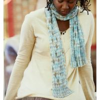 Ocean Scarf – Knitted