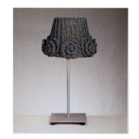 Rose Lampshade – KNITTED PDF Pattern