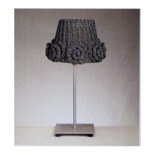 Rose Lampshade - KNITTED PDF Pattern