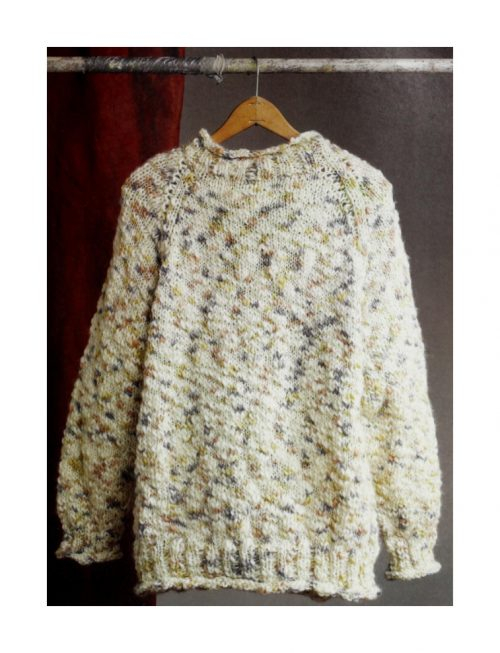 Rustic Raglan Sweater