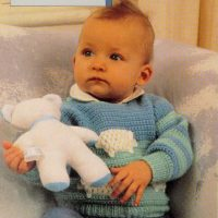 Sheep Pullover for  6 to 18 months – CROCHET