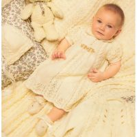 5pce Baby Lace Layette  (3 – 6 months)