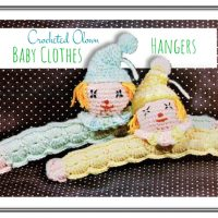 Novelty Clown Clothes Hanger for Kids