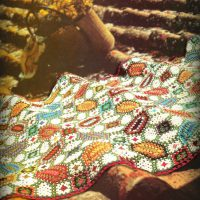 Granny Mosaic Afgan Throw