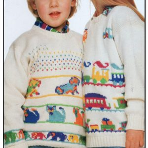 Kids Animal and Train Sweaters