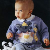 DK – Little Mouse Baby Jumper No2  – (6 to 24 months)