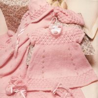 6pce Rosebud Layette  (0, 3 and 6 months)