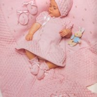 6 pce Baby Rosebud Layette  (0, 3 and 6 months)