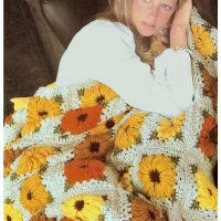 Sunflower Throw – Crochet