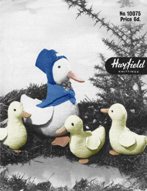 Puddle Duck knitting pattern