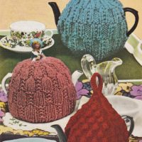 Tea Cosies Times Three