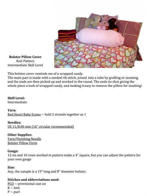CHUNKY - Candy Bolster