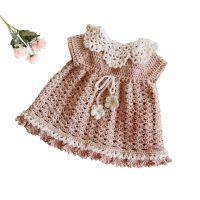 Little Angel Baby Dress – 1 to 3 months – crochet
