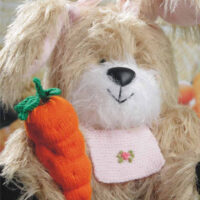 Cottontail Rabbit, Ruby Rabbit Knitting Pattern, Soft Toy, Size – 30cm / 11.75 ins