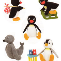 DK Pingu Penguins and Sam the Seal  Knitting Pattern