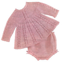 Pink Mattinee Lace Angel Top and Matching Panties – 4 SIZES