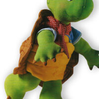 Turtle Soft Toy Sewing Pattern –  33cm-13 Inches Tall – Franklin the Turtle