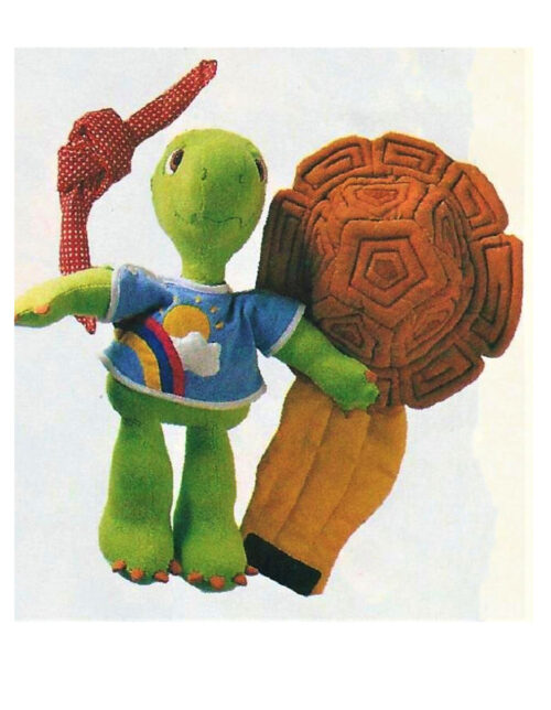 Turtle Sewing Pattern removable parts