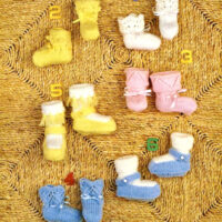 DK – Six Booties to knit