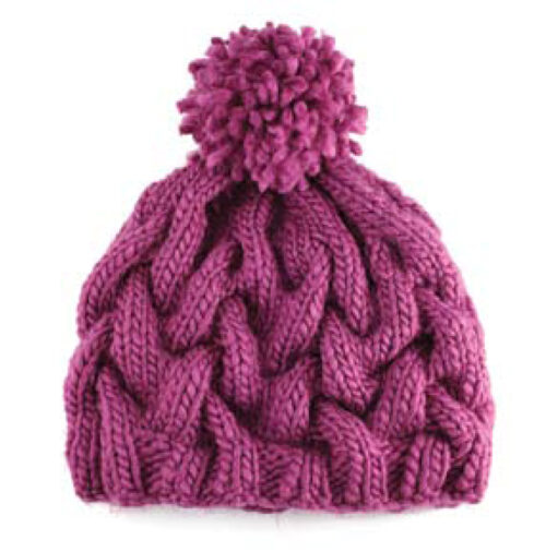 Chunky Cable Cap
