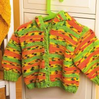Stripie Warm Baby Cardigan Sweater for up to 24 month babies